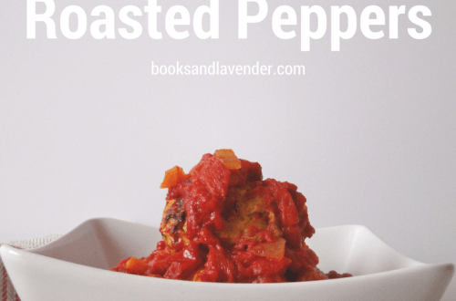 Turkey Meatballs with Roasted Peppers