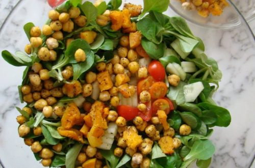 Chickpea and Pumpkin Salad | booksandlavender.com