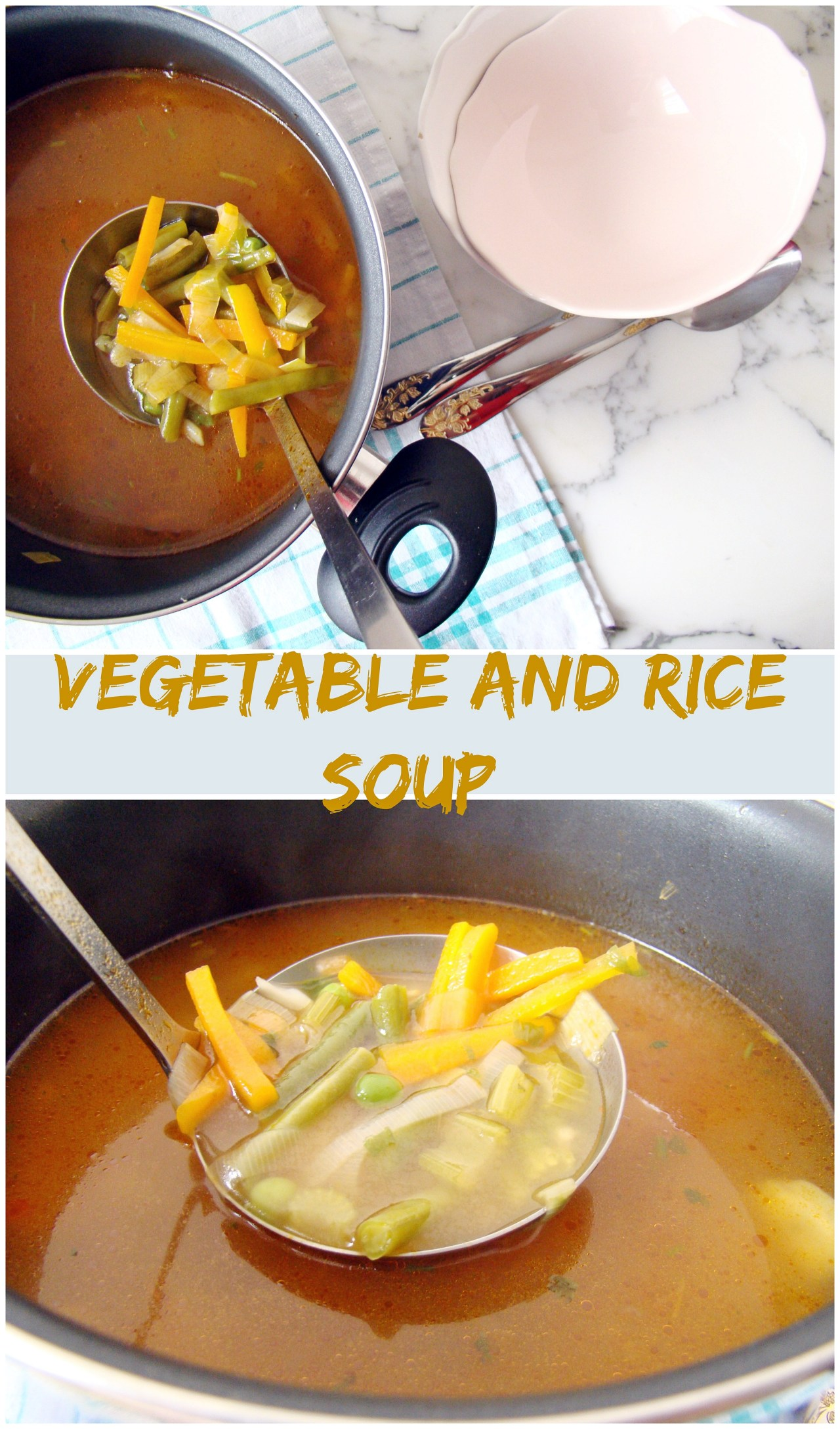 Vegetable and Rice Soup