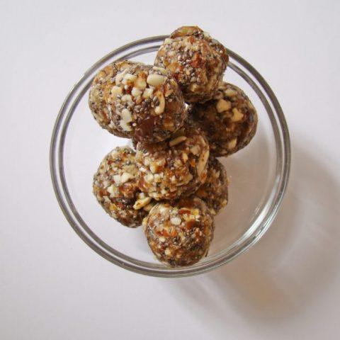 Chia Seed Energy Balls
