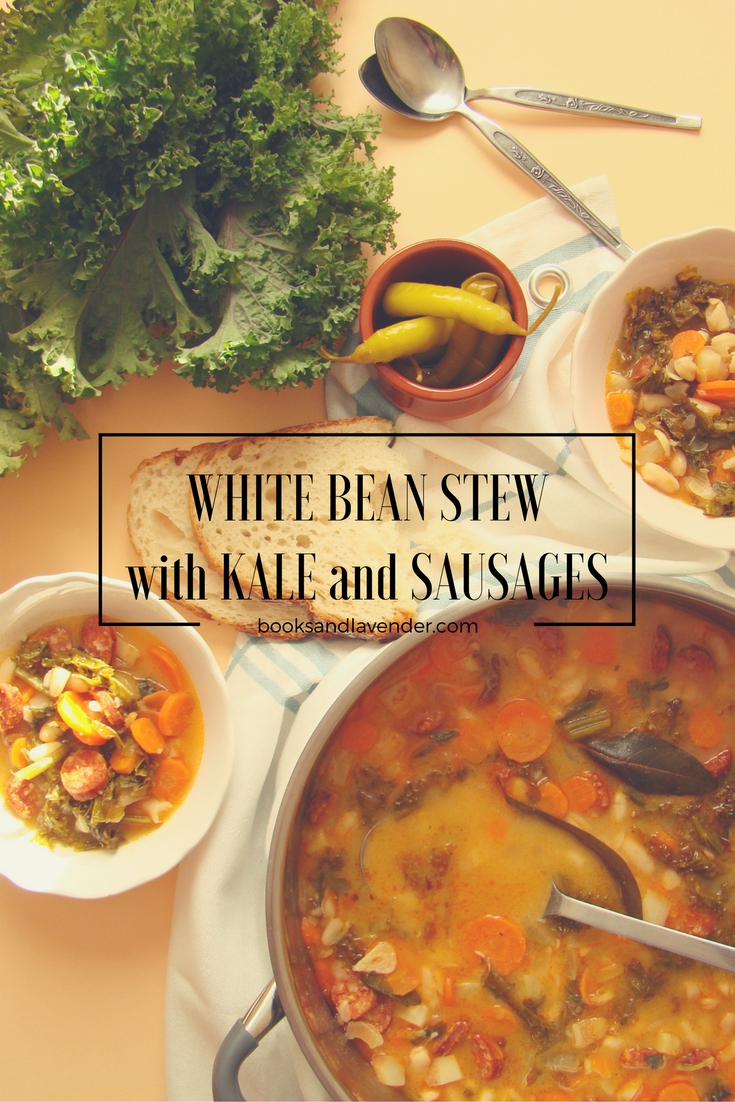 white-bean-stew-with-kale-and-sausages