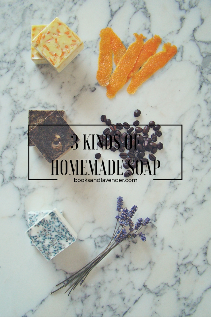 How to Make melt-and-pour Homemade Soap (three ways!)