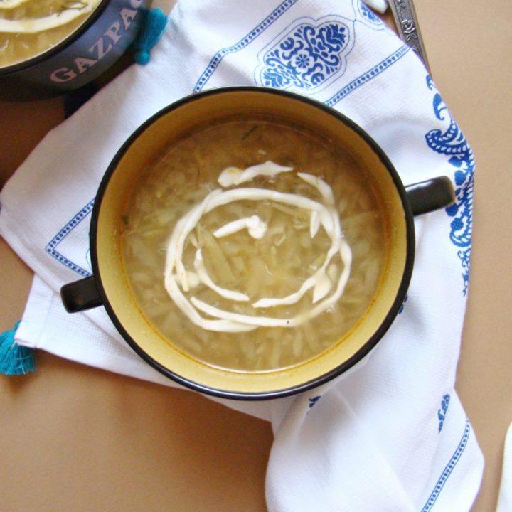 Super Easy Zucchini Soup