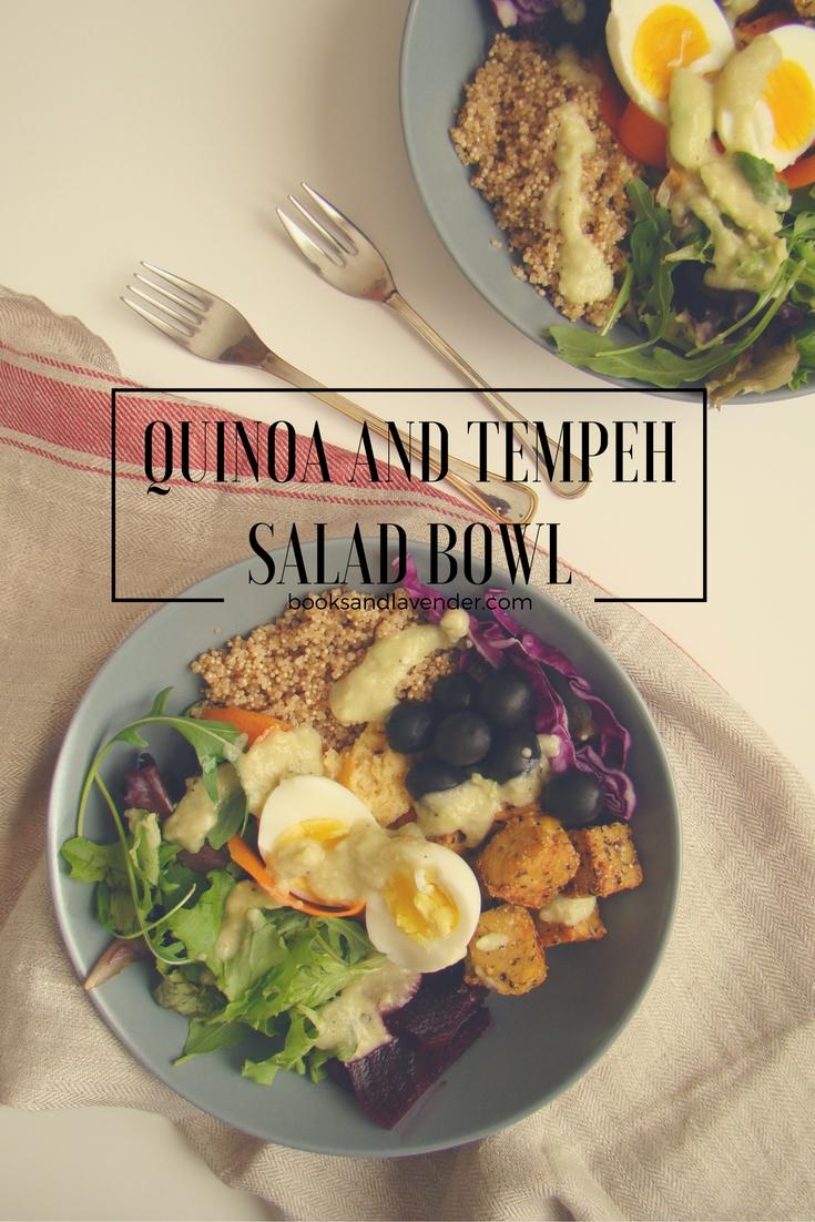Quinoa and Tempeh Salad Bowl