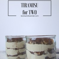 How to make Tiramisu for Two