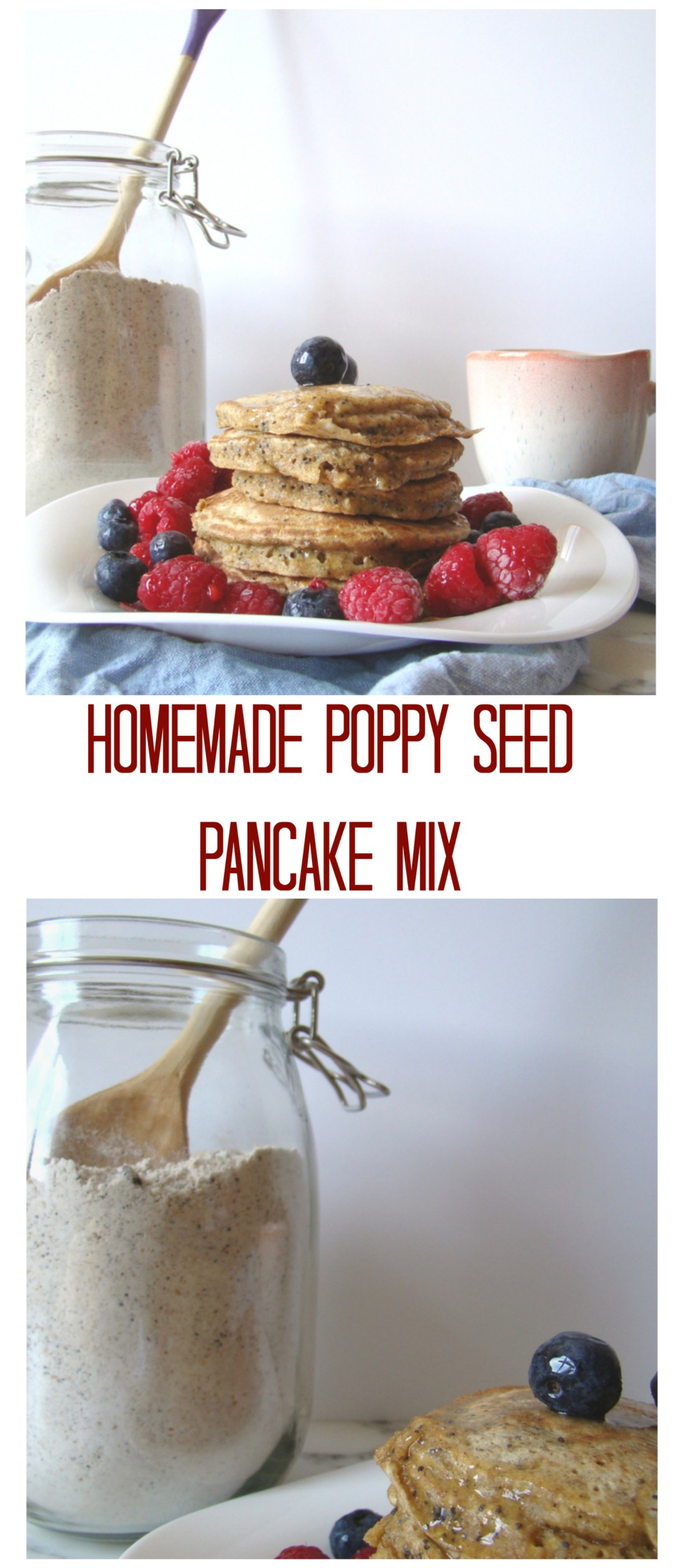 Homemade Poppy Seed Pancake Mix