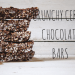 Crunchy Cereal Chocolate Bars | booksandlavender.com