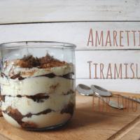 Amaretti Tiramisu for Two