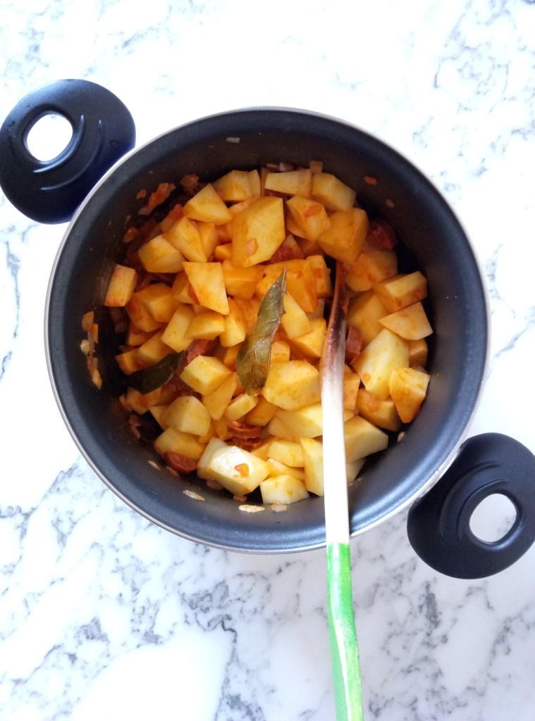 Spanish Potato Stew (Patatas a la Riojana)
