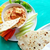 Hummus with Homemade Pita Bread