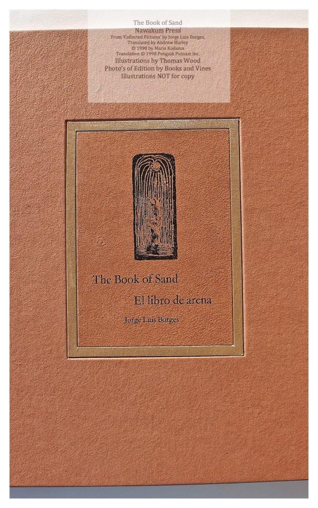 The Book of Sand, Nawakum Press, Covered Box