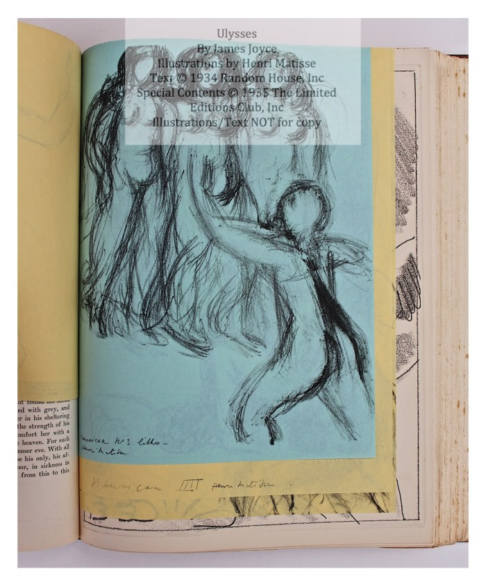 Ulysses, Limited Editions Club, Sample Illustration Group #2, #3 of 4