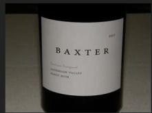 2007 Baxter Pinot Noir Oppenlander Vineyard