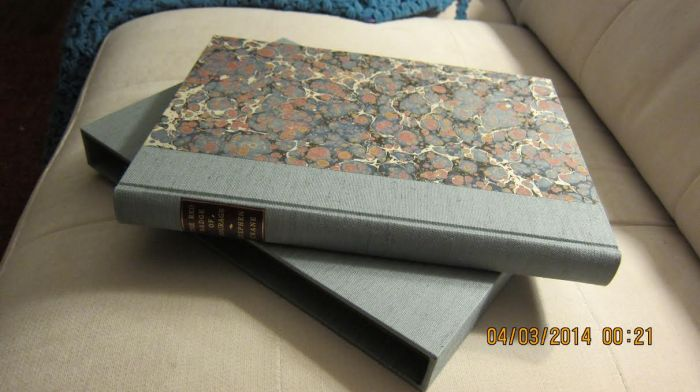 Red Badge of Courage, Another Binding done by Starr Bookworks, Sample #1