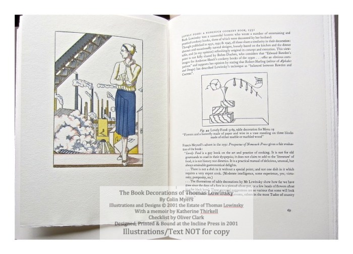 The Book Decorations of Thomas Lowinsky, Incline Press, Sample #5