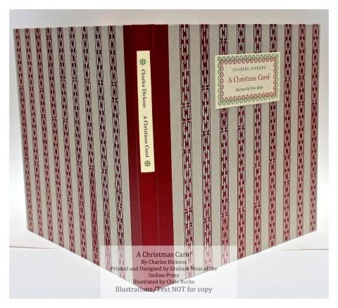 A Christmas Carol, Incline Press, Cover and Spine
