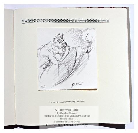A Christmas Carol, Incline Press, Preparatory Sketch