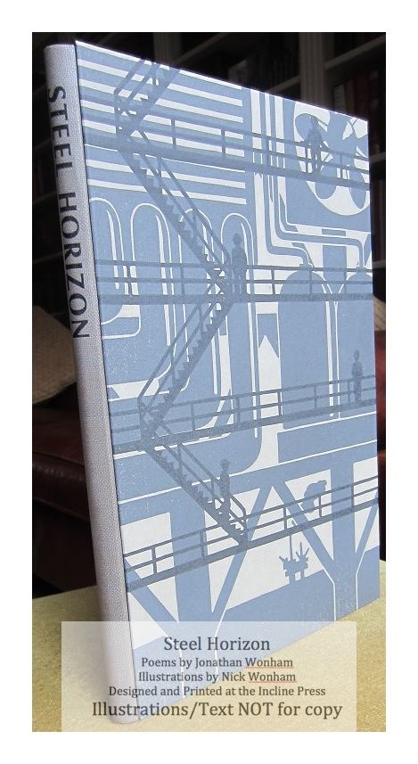Steel Horizon, Incline Press, Book in Slipcase