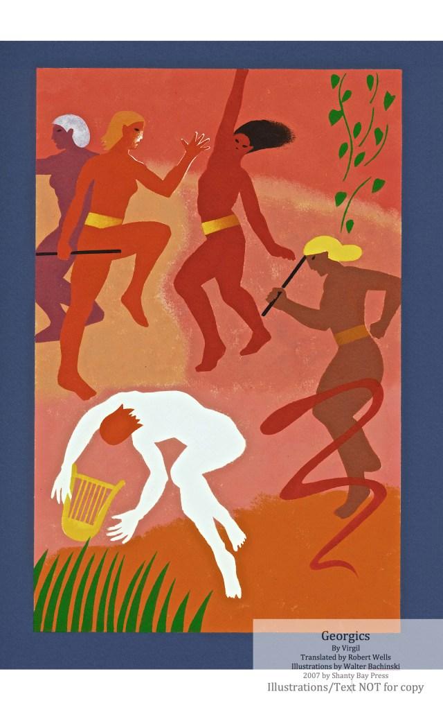Georgics, Shanty Bay Press, Book Four Pochoir
