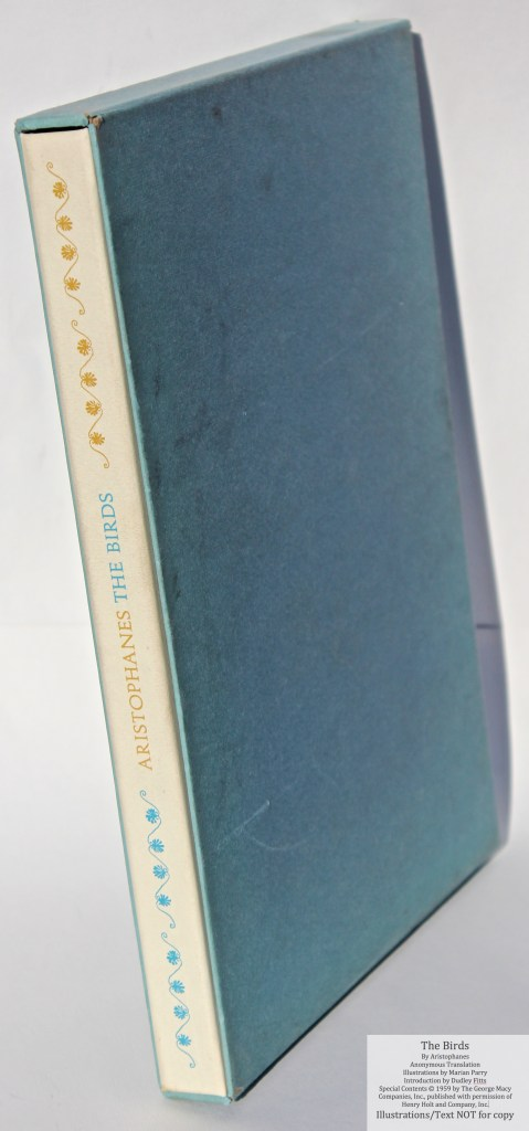 The Birds, Limited Editions Club, Book in Slipcase
