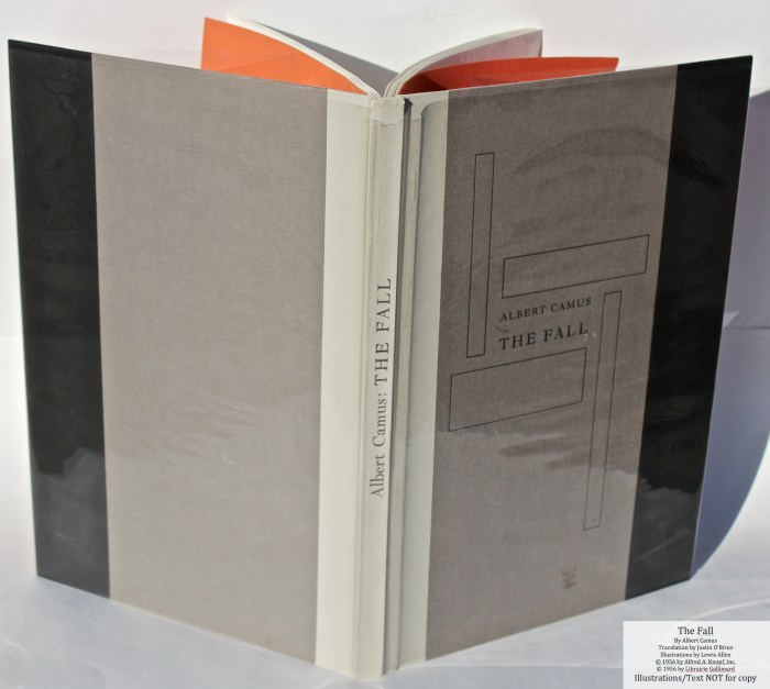 The Fall, Allen Press, Spine and Covers