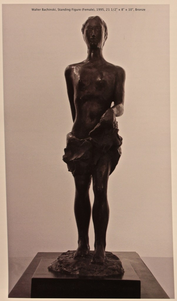 Standing Figure (Female), Bronze