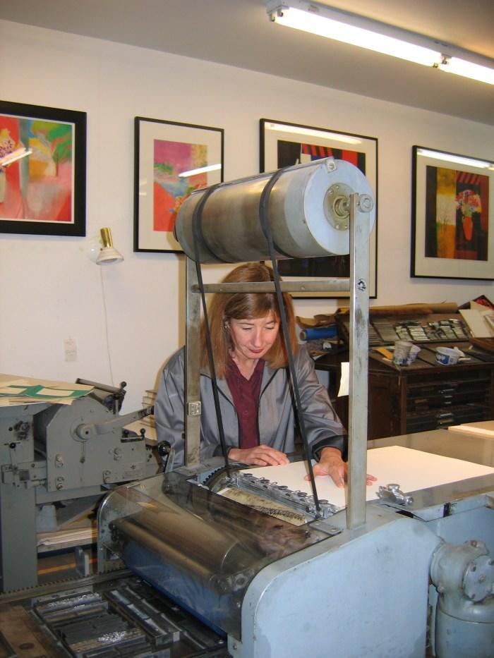 Shanty Bay Press, Janis Butler printing