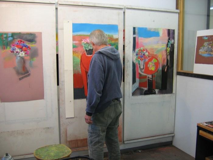Shanty Bay Press, Walter Bachinski in the Pastel Studio
