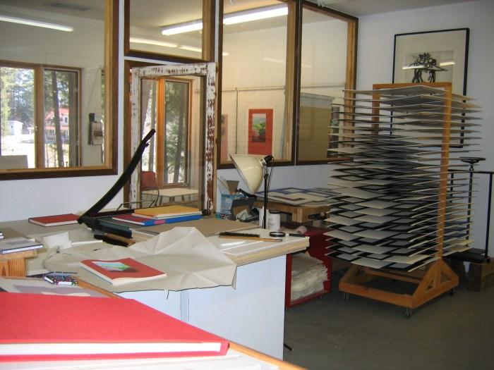 Shanty Bay Press, The Studio