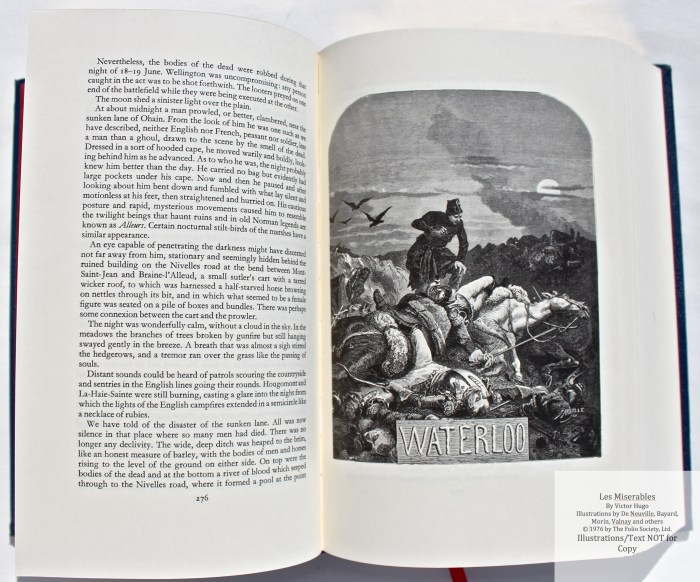 Les Miserables, The Folio Society LE, Sample Illustration #2