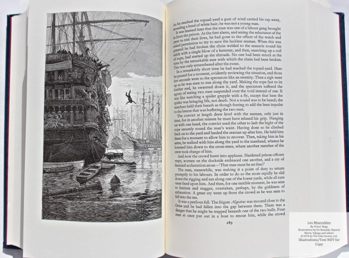 Les Miserables, The Folio Society LE, Sample Illustration #3