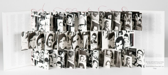 In Their Memory, Craft Press Chile, Faces and Names