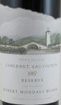 1987 Robert Mondavi Winery Cabernet Sauvignon Reserve