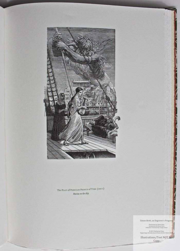 Simon Brett, an Engraver's Progress, Sample Illustration #12 (Grouping 4)