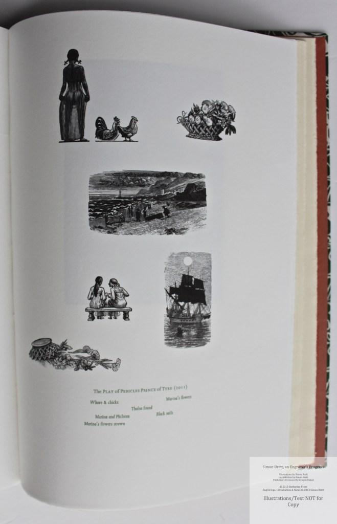 Simon Brett, an Engraver's Progress, Sample Illustration #19 (Grouping 8)