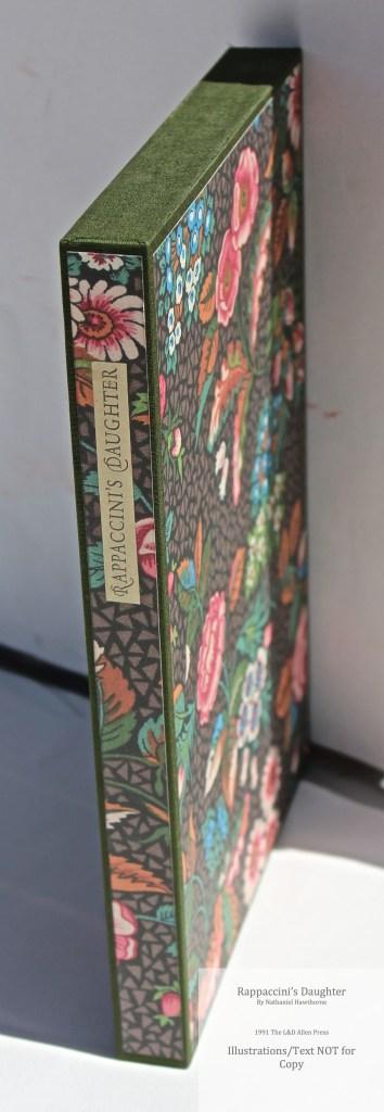 Rappaccini's Daughter, Allen Press, Slipcase (Custom)