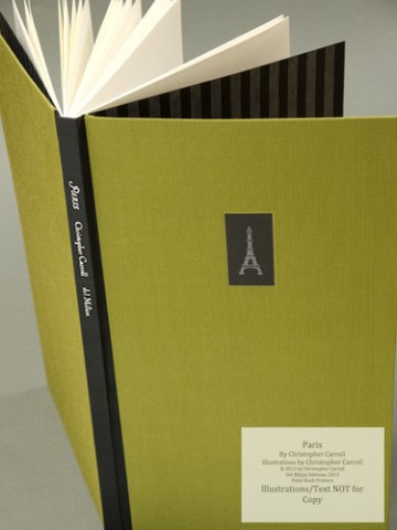 Paris, Peter Koch Printers, Spine and Cover