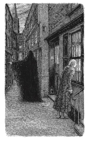 Hand & Eye Editions, A Christmas Carol, Sample Illustration