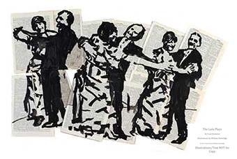 Arion Press, The Lulu Plays, William Kentridge Illustration Sample #3