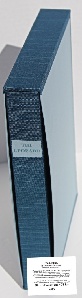 The Leopard, Arion Press, Book in Slipcase