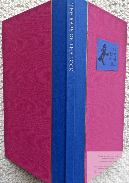 The Rape of the Lock, The Folio Society, Spine and Covers