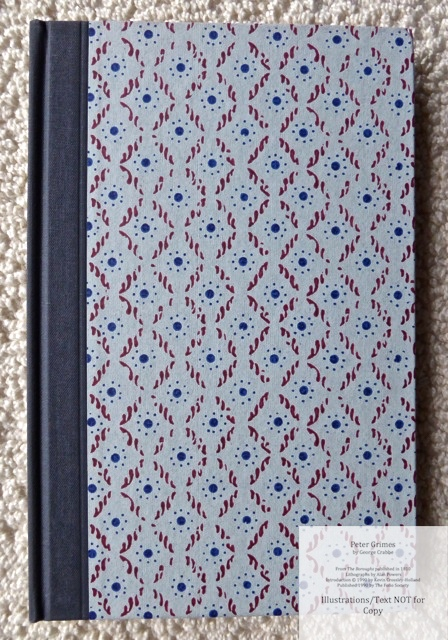 Peter Grimes, The Folio Society, Front Cover