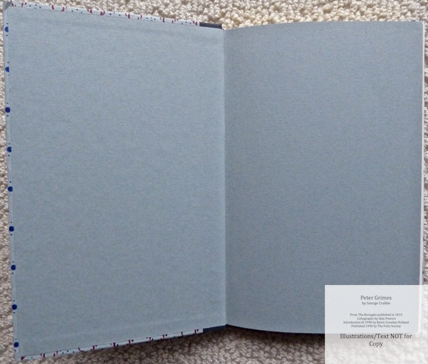 Peter Grimes, The Folio Society, Endpapers