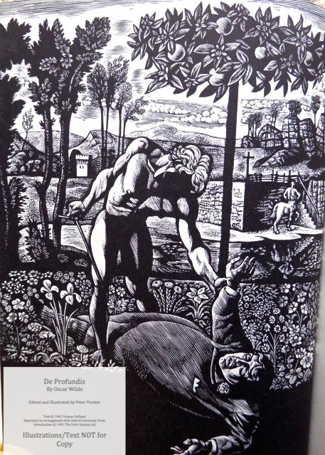 De Profundis, The Folio Society, Sample Illustration #1