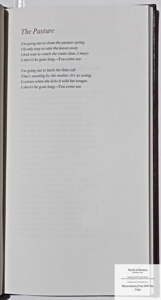 North of Boston, Ascensius Press , Sample Text #1
