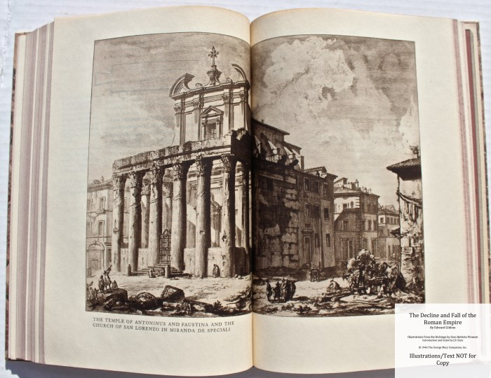 The Decline and Fall of the Roman Empire, Limited Editions Club, Sample Illustration #3