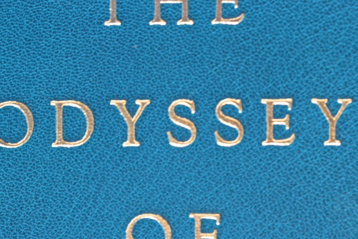 The Odyssey, Limited Editions Club, Macro of Cover