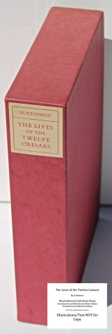 The Lives Of The Twelve Caesars, Limited Editions Club, Slipcase