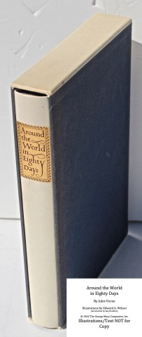Around the World in Eighty Days, Limited Editions Club, Book in Slipcase