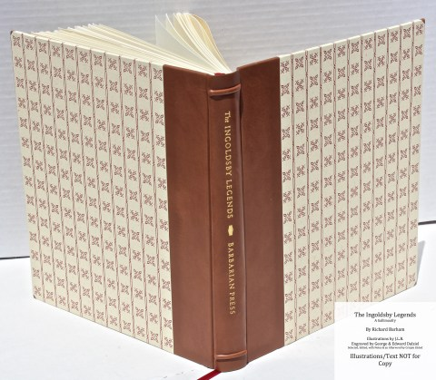 The Ingoldsby Legends, Barbarian Press, Spine and Covers
